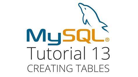 javascript tutorial quentin watt mysql tutorial 13 creating and dropping tables youtube