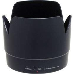 L3094 Lenshood Et86 For Canon Ef 70200 F 28 Is Kode V3094 canon et 86 lens for ef 70 200mm f 2 8l is usm 6746a001 b h