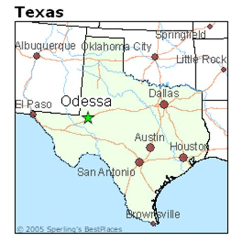 where is odessa texas on the map best places to live in odessa texas