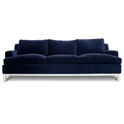 navy blue velvet sofa sofa furnished souls