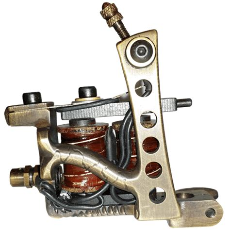 Jonesy Tattoo Machine History | 5 hole jonesy tattoo machine