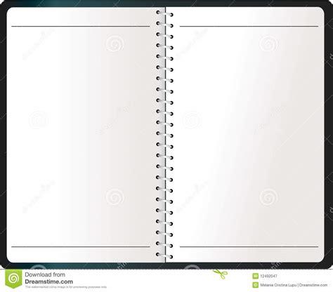 Agenda Notebook By Stationery binding notebook agenda vector stock vector