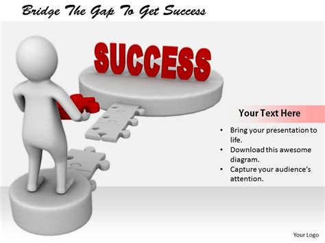 2413 Bridge The Gap To Get Success Ppt Graphics Icons Powerpoint Presentation Powerpoint Bridging The Gap Powerpoint Template