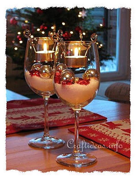 glass table decoration ideas free craft project tea light decorations