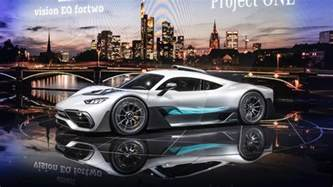 Mercedes Frankfurt Mercedes Amg Project One Bursts Into Frankfurt With 1 000 Hp