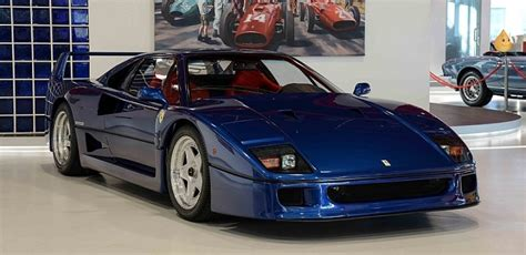 blue f40 blue f40 with tubi exhaust legendary ride
