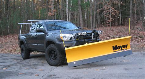 Snow Plow For Toyota Tacoma How Do You Use Your Truck In The Snow Plowing Tacoma