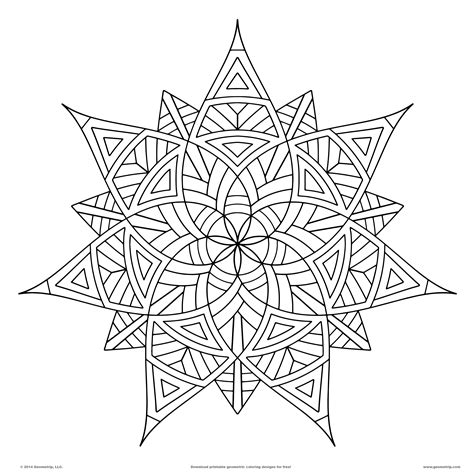 high quality coloring pages for adults geometrip features high quality geometric coloring