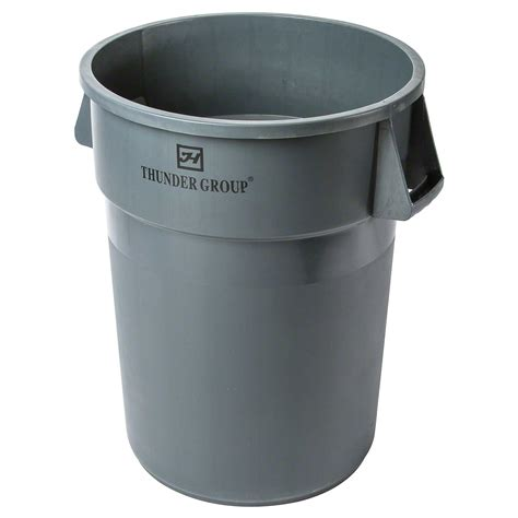 trash can thunder pltc044g 44 gal plastic trash can
