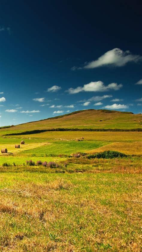 village green landscape meadow great view iphone wallpaper
