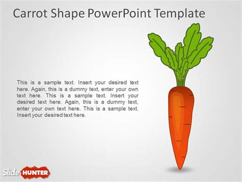 ppt templates for motivation free download free carrot shape powerpoint template free powerpoint