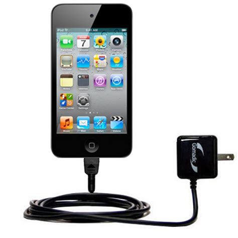 ipod touch 4 charger gomadic intelligent compact ac home wall charger suitable