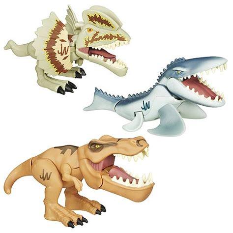 Figure Dinosaurus Set jurassic world chompers dinosaur figures wave 1 set