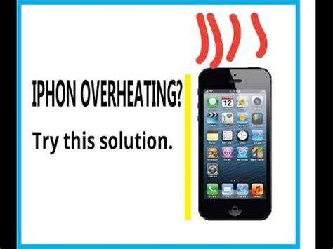 iphone overheating problem solved