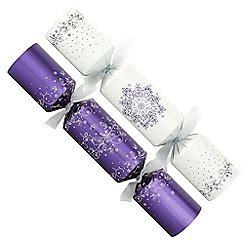 purple crackers for crackers debenhams