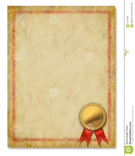 de achtergrond van de toekenning van het diploma van het