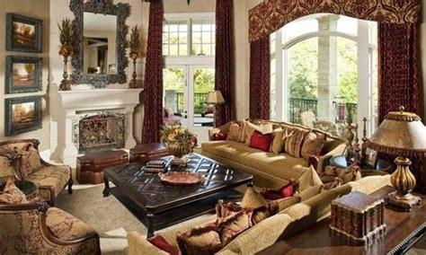 Mediterranean Style Living Room Curtains   Interior design