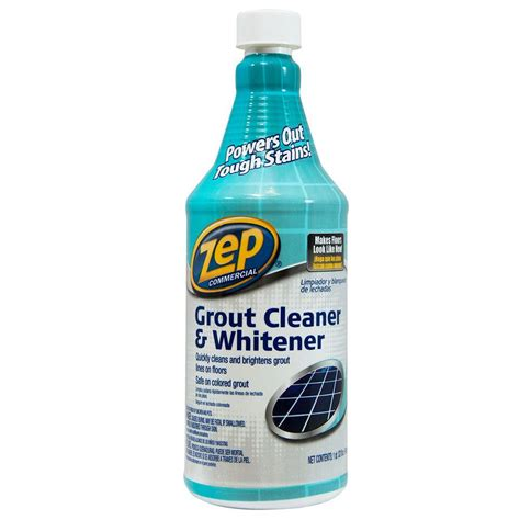 Grout Cleaner Rental Zep 32 Fl Oz Grout Cleaner And Whitener Zu104632 The Home Depot