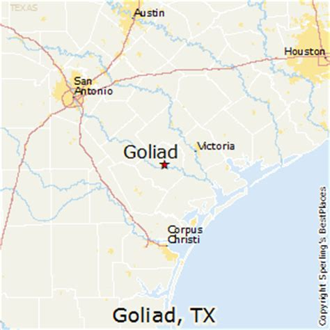 goliad texas map best places to live in goliad texas