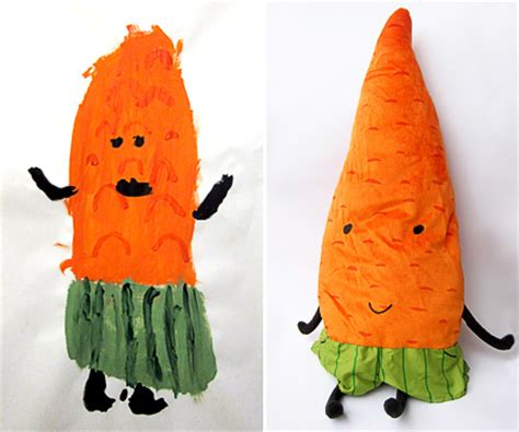 ikea the carrot and the sticker mollymoocrafts portrait of a carrot mollymoocrafts