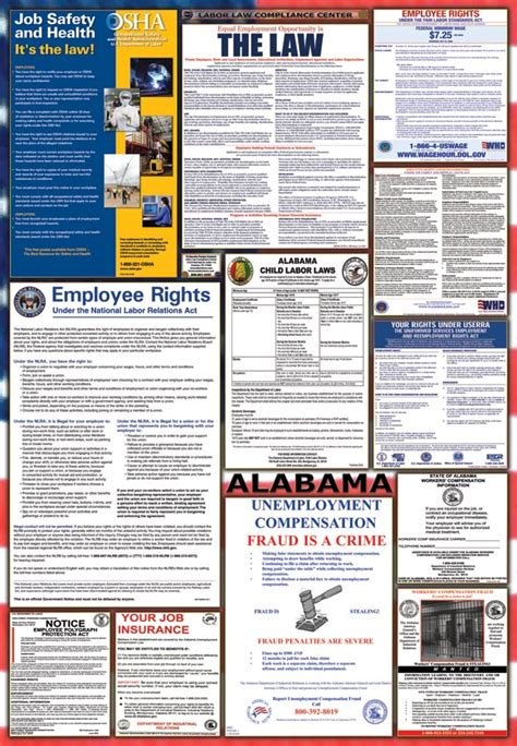 printable eppa poster alabama labor law posters