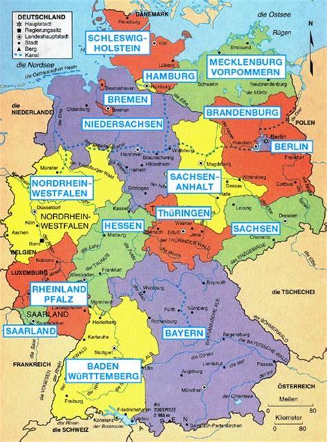 states germany map germany states map germany sports germany landmarks map