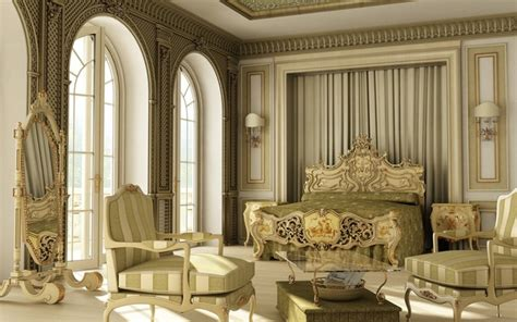 Classy Bedroom classical interior design style ideas images elements tips