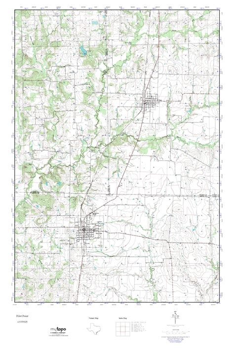 map of pilot point texas mytopo pilot point texas usgs topo map