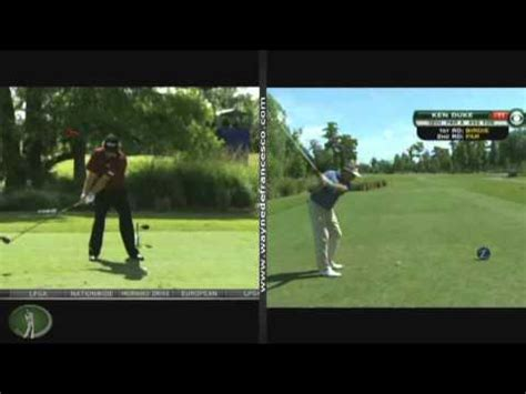 ken duke swing golf swing analysis jason dufner ken duke youtube
