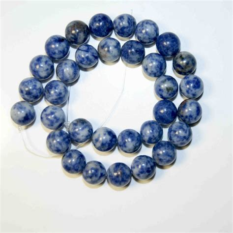 material for jewelry dot white blue vein sodalite for jewelry