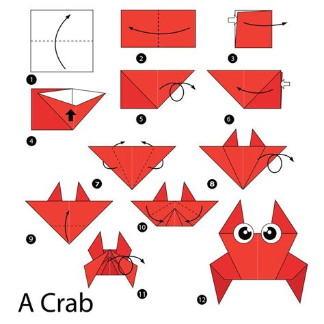 how to make origami crab simple origami how to fold a crab origami