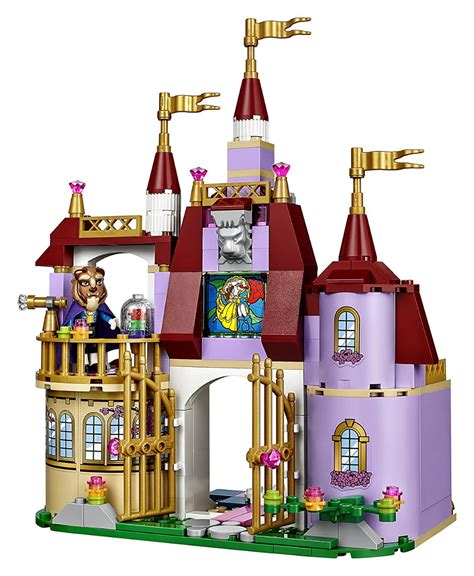 Lego Princess Diary Beautiful lego the beast princess s enchanted castle building blocks join if deals