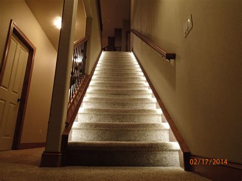 Led Light Strips For Stairs Lighting For The Home Illuminate The Staircase Leading To