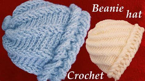 tejido de gancho aprende hacer un gorro tejido con gancho crochet de