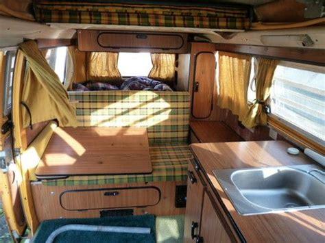 purchase   vw bus vanagon camper poptop volkswagon westfalia  kitchen gas heater
