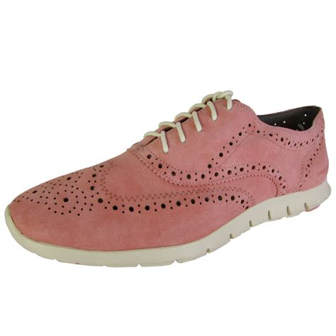cole haan oxford shoes for cole haan zerogrand wingtip oxford lace up shoe ebay