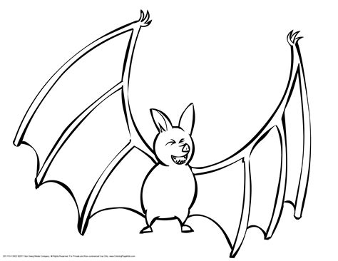 pictures to color bat coloring pages to and print for free