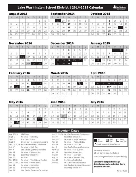 District 8 Calendar Lwsd Calendar 2017 Calendar 2017