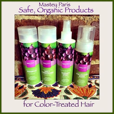 best shoo for color treated hair 2015 mastey paris offers organic products for color treated