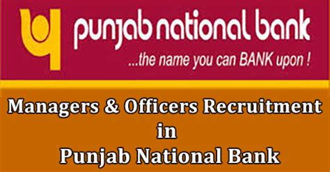 Punjab National Bank Letter Of Credit Charges Managers Officers Recruitment In Punjab National Bank
