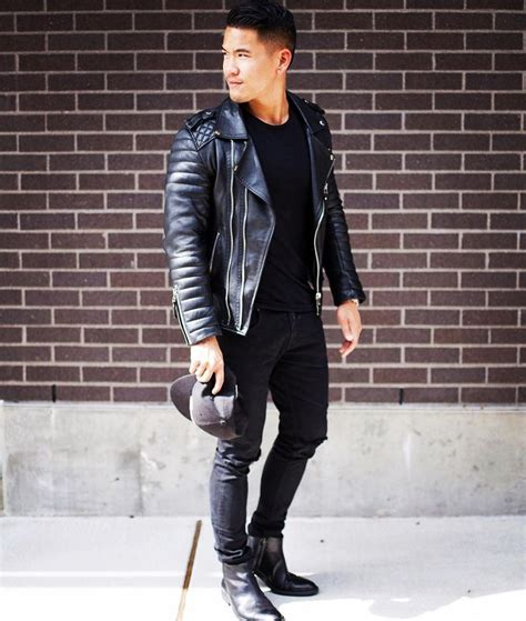Beike Fashion 1000 ideas about mens leather biker jacket on