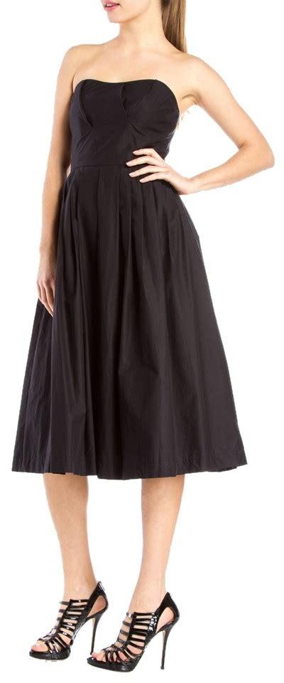 Who Wore It Better Michael Kors Black Strapless Jumpsuit by Michael Kors Black Strapless Mid Length Formal Dress Size
