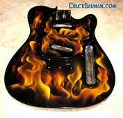 Realistic Flames Airbrushing Custom Painting Fire Skulls &amp