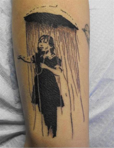 black umbrella tattoo 22 awesome umbrella tattoos