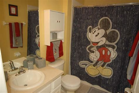 mickey mouse bathroom decorating ideas