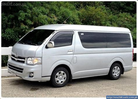 Toyota Hiace Van Philippines Mitula Cars