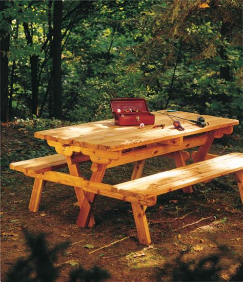 picnic bench plans free downloadable square picnic table plans