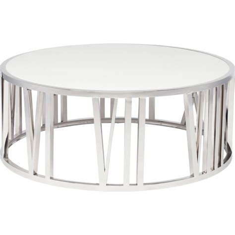 nuevo hgtb roman coffee table  polished stainless