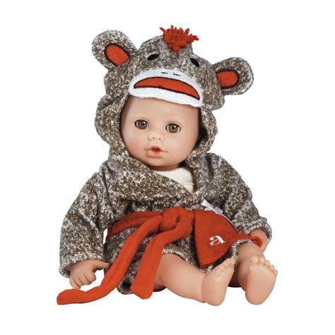 Monkey Giveaway - bathtime baby sock monkey adora doll giveaway