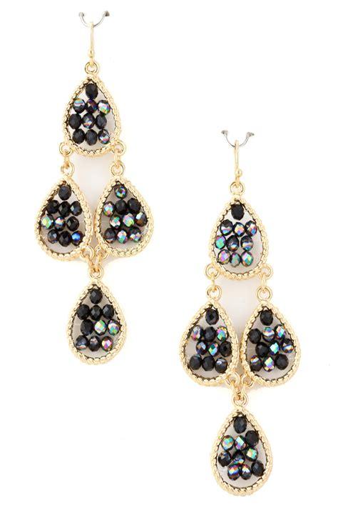 bead earrings seed bead chandelier earring earrings